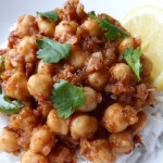 Chickpea Curry using Mama Nagi's Indian Spice Paste