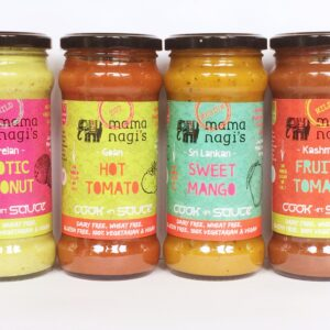 4 Cook-In Sauces